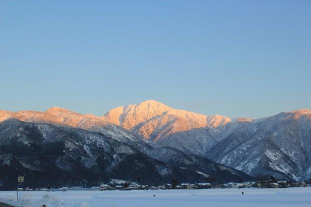 荒島岳-冬