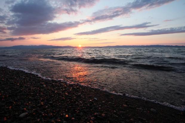 ①琵琶湖ヨコ